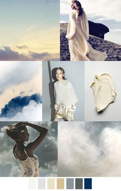 VANILLA SKY - SS 17. Color and pattern palette. Fashion trend. For more follow www.pinterest.com/ninayay and stay positively #inspired