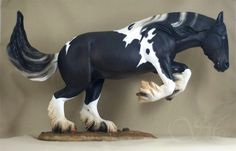 Breyer TR Wixom; customized and painted by Sue Kern