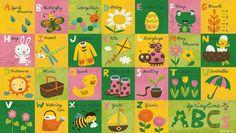 ABCs Series by Jannie Ho, via Behance