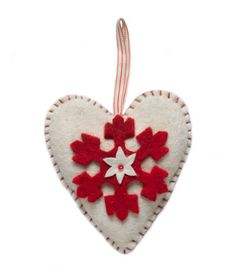 Arcadia hand felted ornament