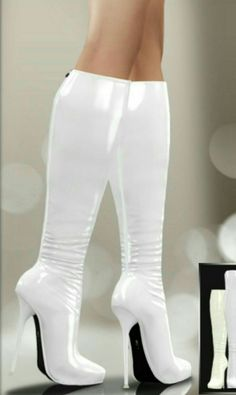 New Stylish Women Winter Over The Knee Boots Thin High Heels Boots Sexy 2019 Thigh High Boots Heels, Stiletto Boots, Hot High Heels, Platform High Heels, Knee Boots, Heeled Boots, Bootie Boots, White Boots, Sexy Boots