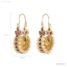 Kosen Earrings (Silver) – Arnav & Co.