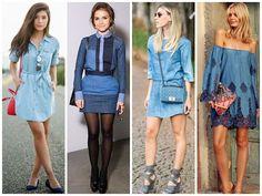 Tendência: Total jeans | Sutileza Feminina