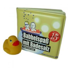 Edition Wannenbuch Babbelspaß mit Badesalz - Comedy für die Wanne