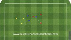 Ejercico de fútbol para tus entrenamientos - 3x3x3 en 3 subespacios