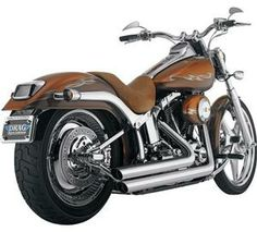Python Staggered Duals Exhaust System Black- Harley Davidson Softail Models 07-newer - DS-41605 Review Buy Now