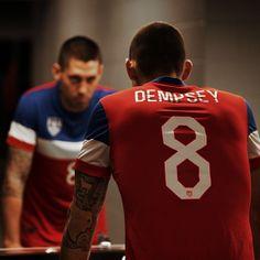 US Soccer Team - Captain America - Clint Dempsey