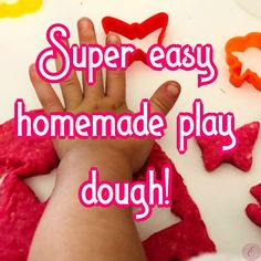 It is so quick and easy to do, so much cheaper to make instead of buying it so here is the recipe for you to try for your little ones! Homemade Playdough, Twin Mom, Easy, Recipes, Food, Essen, Meals, Ripped Recipes, Eten