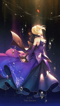 Fate series - saber - Anime Wallpaper