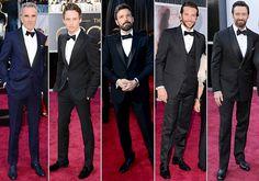 best dressed men oscars 2013 - tuxedo