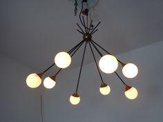 lampadario stilnovo : Lampadario,chandelier,anni 50,STILNOVO,Diabolo,ARREDOLUCE,design ...