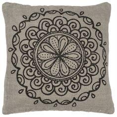 Povlak na polštář Circle grey 50x50 | Bella Rose