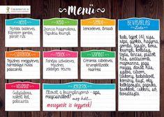 Ti megterveztétek már a heti menüt?  Menütervező táblánkkal egyszerű dolgod van, hétről-hétre... :)  . . . . . . . #hetimenü #menütervező #mutimiteszel #család #konyha #receptek #háztartás Planer, Tarot, Learning, Bullet, Foods, Google, Diy, Food Food, Food Items