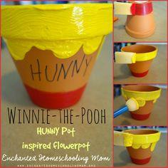 Winnie-the-Pooh Hunny Pot Flowerpot