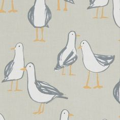 CURTAIN FABRIC//CRAFT NEW PHEASANTS Natural p//m STUDIO G CLARKE and CLARKE
