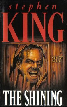 Stephen King, The Shining. My favourite book. Possibly the most scared I've ever been reading a book.