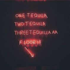 Hmmm... I need 5-7 shots of tequila