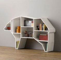 Bear Bookcase // So Baylor! And so much #SicEm!