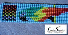 Loom Bracelet Patterns, Loom Bracelets, Collar Indio, Beautiful Rangoli Designs, Beaded Animals, Darwin, Loom Beading, Resin Crafts, Wire Wrapped Jewelry