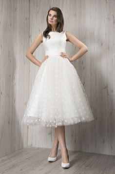 Fulara & Żywczyk  tea length wedding dress #weddingdress #Wedding