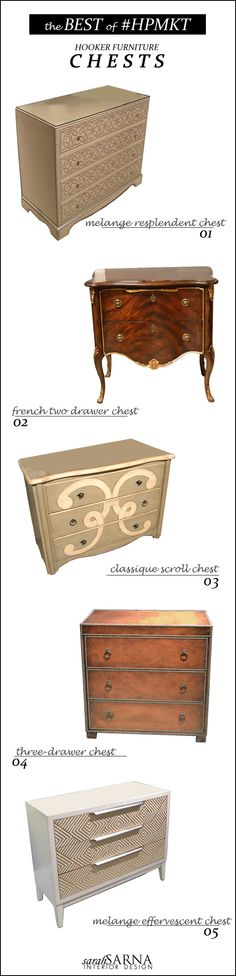 Fabulous Furnishings. Accent Chests from Hooker Furniture @Hooker Furniture .