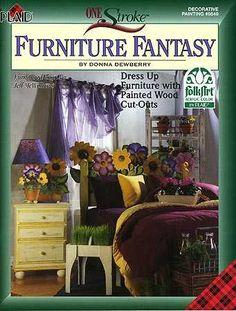 One Stroke Furniture Fantasy, Donna Dewberry Book