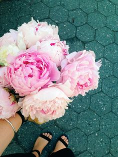 peonies | nicole franzen. My current flower obsession.