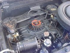 1962 Corvair engine | 1962 Chevrolet Corvair Monza 900 engine