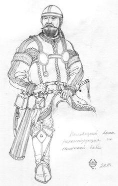 Kipchak (Cuman) Warrior