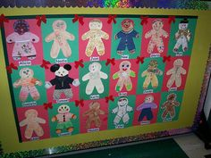 quilt to display gingerbread men