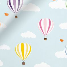 When the world outside is nothing more than a dreary shade of grey, the Balloons Flying High roller blind will brighten your child's day.br br With a blackout backing you can take bedtime into the. Curtains To Go, High Curtains, Dining Room Curtains, Curtains With Blinds, Kitchen Curtains, Blinds Online, Custom Blinds, Blackout Blinds, Beautiful Curtains