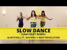 """Slow Dance"" @Sam Feldt Remix || @AJ Mitchell feat @Ava Max || REFIT® Revolution - YouTube Zumba, Cardio Dance, Refit Revolution, Aj Mitchell, Dance It Out, Slow Dance, Dancing Shoes, Health And Beauty, Ava"