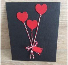Réalisez une carte avec un coeur en relief pour la St Valentin : Marion T