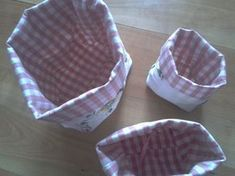 Sewing Box, Diy And Crafts, Projects To Try, Diys, Fabric, Mantel, Blog, Bread Baskets, Fabric Boxes
