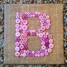 Hey, I found this really awesome Etsy listing at https://www.etsy.com/listing/160931711/personalized-button-letter-for-a-nursery