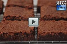 Katharine Hepburn Brownies are named after the famous actor. The brownies have a top crust that is wonderfully crisp, yet underneath the brownies are sweet, moist and chewy. From Joyofbaking.com With Demo Video
