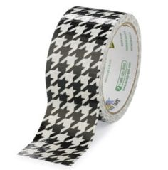 gift for the preppy man who has everything ~ houndstooth duct tape.  Way too cool.    PLZ and THNX
