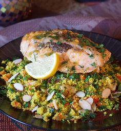 Find Chicken Marrakech with Jeweled Couscous and other delicious poultry recipes at A Cookbook Obsession