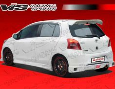 2007-2011 Toyota Yaris 4Dr Wings Rear Lip Loaded Commerce
