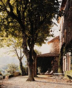 untamedrose:Chateau de Gignac exterior.