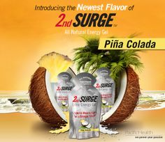 New flavor of 2nd Surge Gel now available! Use code NEWFLAVOR for 10% off and Free Shipping at www.pacifichealthlabs.com.