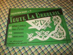 Embroidery Books, Boutique, Cover, Monogram, Boutiques