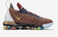 0530ad2593dfaf Nike LeBron 16 What The 1 Thru 5 Multicolor For Sale Lebron 16
