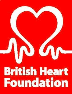 British Heart Foundation  this is also a very plain and boring logo but it is significant to the charity as it is about hearts and there is imagery in the logo of the heart and pulse which i think is very clever and the background colour is red which signifies blood but i still find it boring.