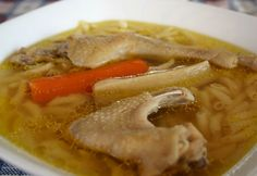 A variation on the thin soup, Turkey Chowder includes cream and flour to thicken the broth. Attempt your preferred veggies and season with salt and pepper. Homemade Chicken Soup, Chicken Soup Recipes, Budapest Restaurant, Turkey Broth, Soup For The Soul, Hungarian Recipes, Hungarian Food, Chowder, Main Dishes