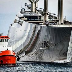 Sailing Yacht A And Motoryacht A Of Russian