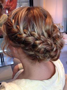 Wedding hair! #salonluce