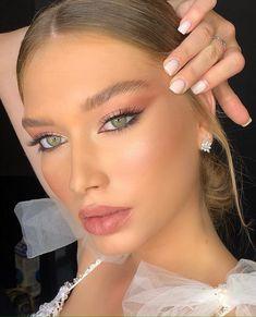Blue Eye Makeup, Glam Makeup, Bridal Makeup, Wedding Makeup, Makeup Tips, Beauty Makeup, Asian Makeup, Korean Makeup, Makeup Tutorials