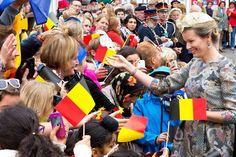 Mathilde et Philippe font leur joyeuse entrée à Gand.