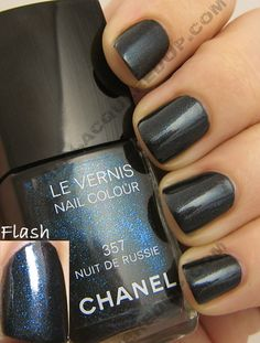 Chanel Nuit de Russie exclusive Paris-Moscow Nailcolor Chanel Paris, Girly Stuff, Girly Things, Nail Art Designs, Cool Designs, Chanel Nail Polish, Hot Nails, Claws, Fashion Art